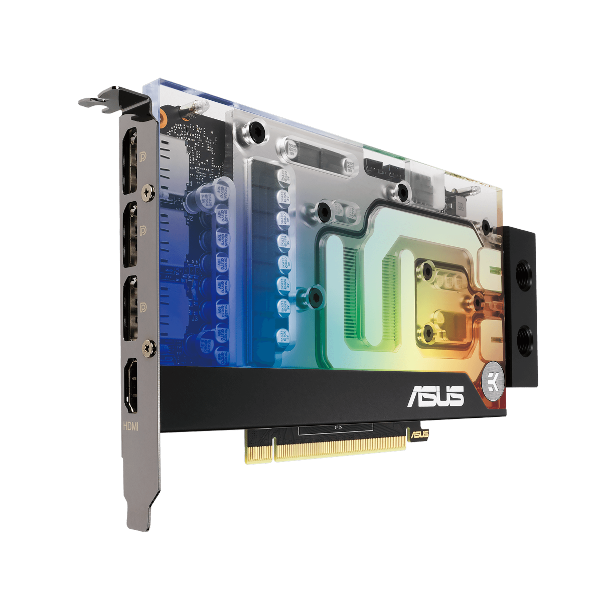 Placa de Vídeo ASUS GeForce RTX 3070 EKWB, 8GB, GDDR6, 256bit, RTX3070-8G-EK - Open Box