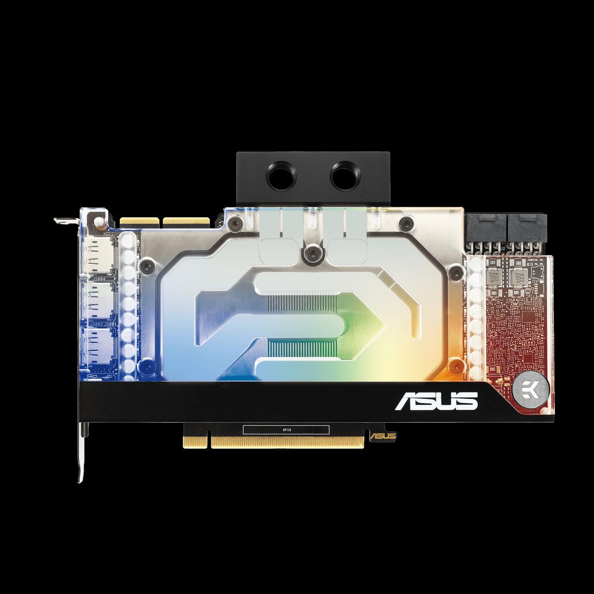 Placa de Vídeo ASUS EKWB GeForce RTX 3090, 24GB, GDDR6X, 384bit, RTX3090-24G-EK