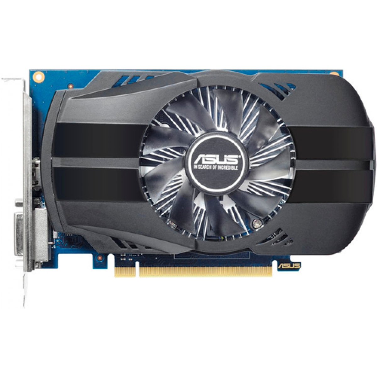 Placa de Vídeo Asus GeForce GT 1030 Phoenix OC, 2GB GDDR5, 64Bit, PH-GT1030-O2G