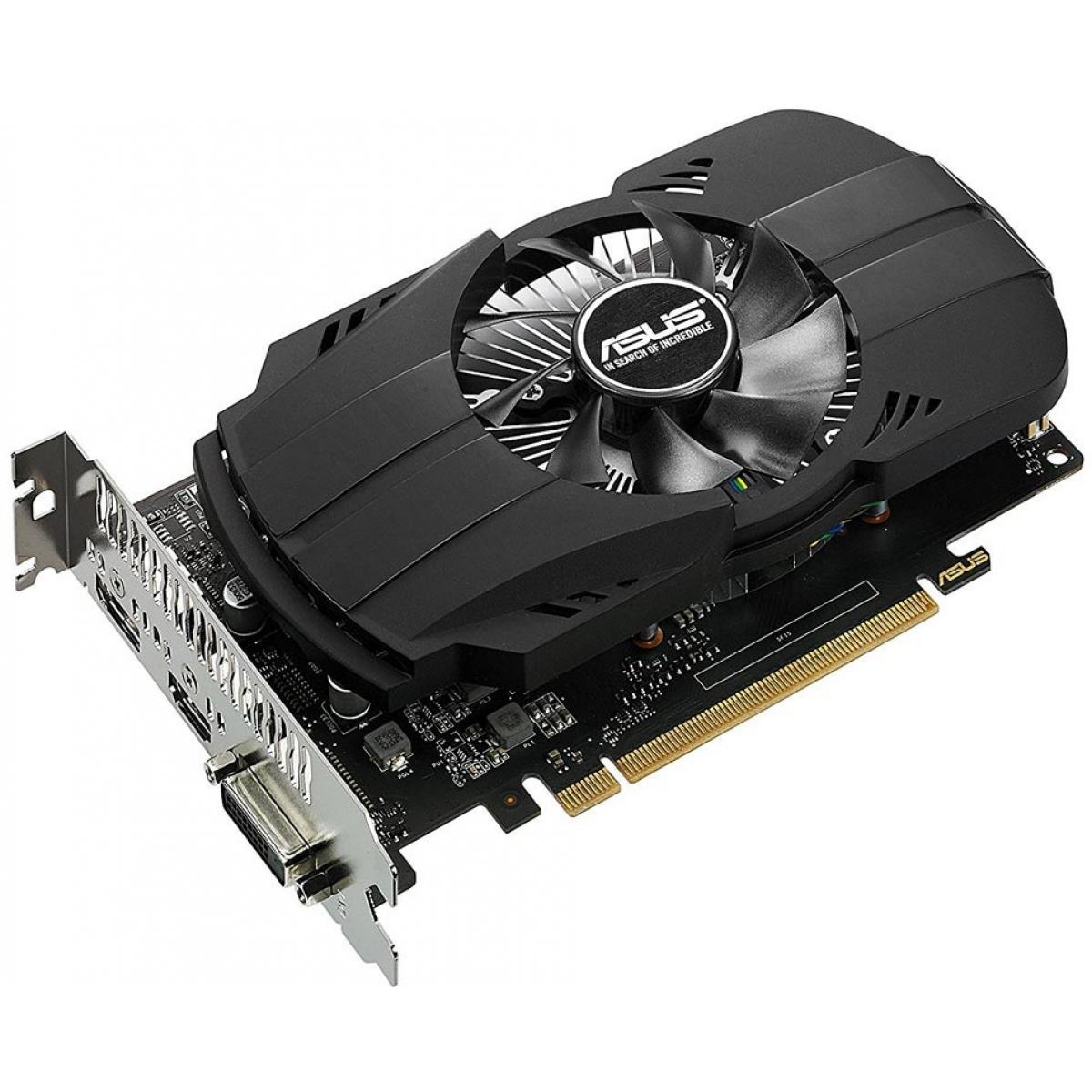 Placa de Vídeo Asus GeForce GTX 1050 TI 4GB PH-GTX1050 TI-4G GDDR5 PCI-EXP