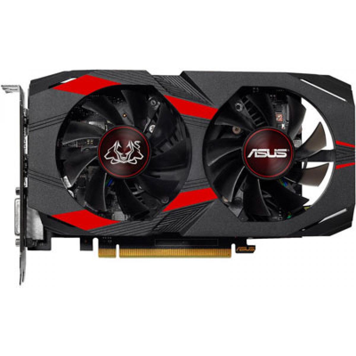 Placa de Video Asus, GeForce, GTX 1050 Ti Dual OC CERBERUS, 4GB, GDDR5, 128Bit, CERBERUS-GTX1050TI-O4G