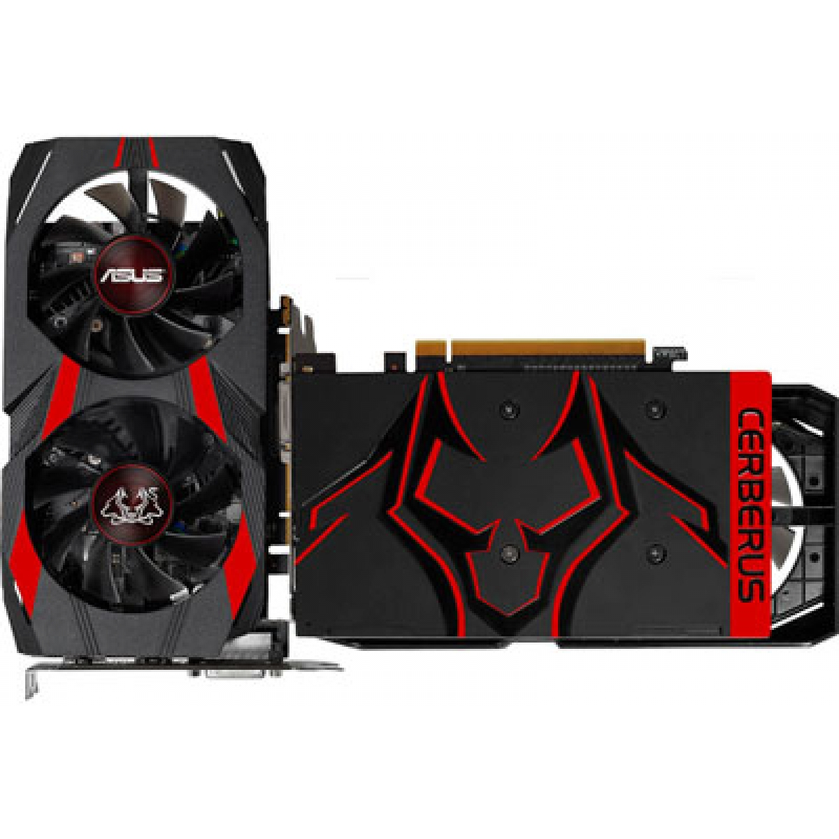 Placa de Video Asus GeForce GTX 1050 Ti Dual OC CERBERUS, 4GB GDDR5, 128Bit, CERBERUS-GTX1050TI-O4G