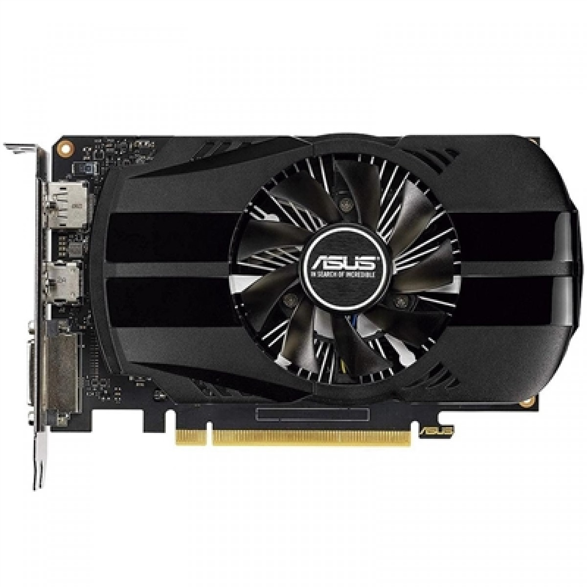 Placa de Vídeo Asus, GeForce GTX 1650 Phoenix 4G, 4GB, DDR5, 128Bit, 90YV0CV1-M0NA00