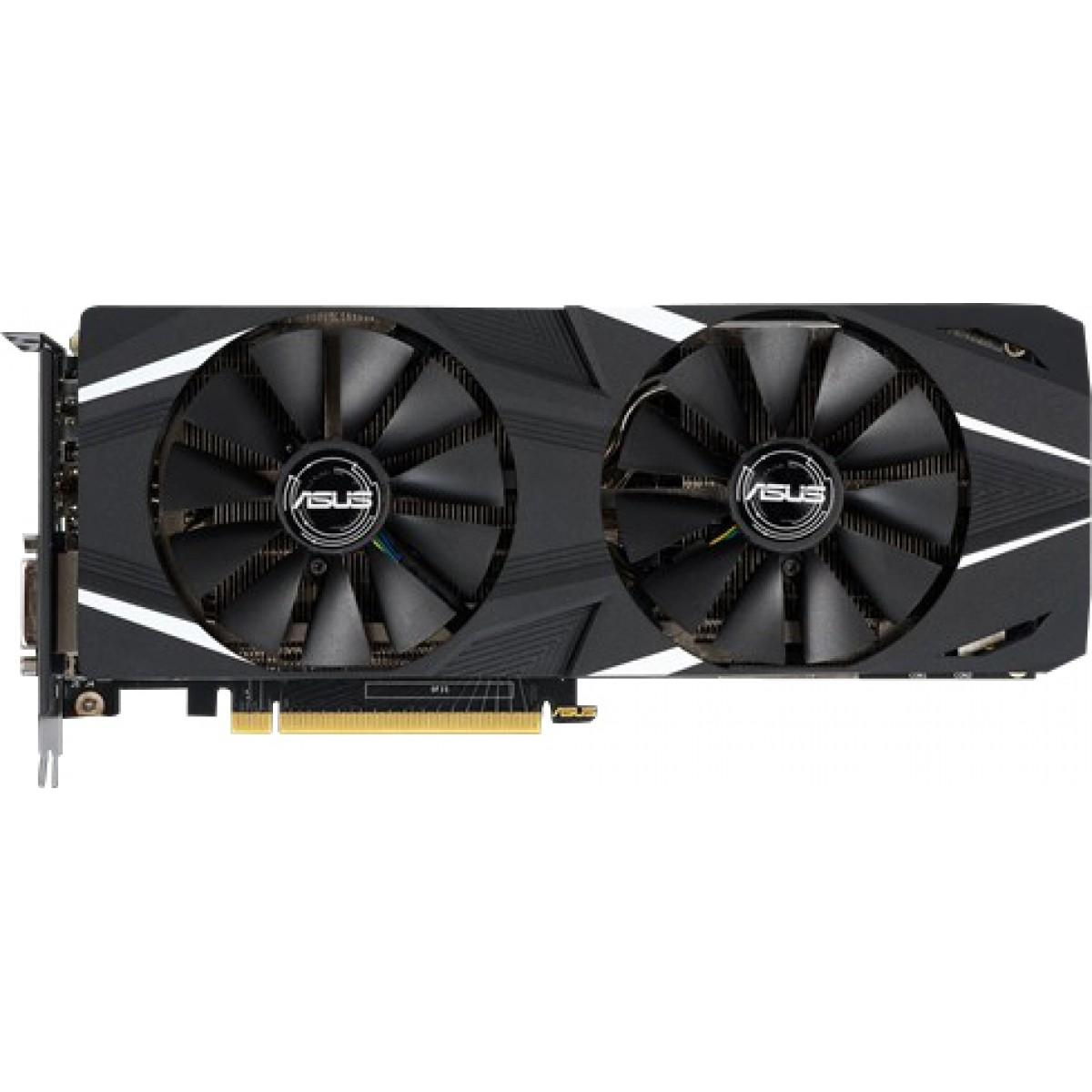Placa de Vídeo Asus Geforce RTX 2060 Dual OC edition 6GB DUAL-RTX2060-O6G GDDR6 PCI-EXP