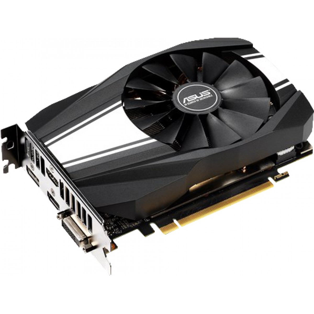 Placa de Vídeo Asus, Geforce, RTX 2060 Phoenix, 6GB, GDDR6, 192Bit, PH-RTX2060-6G