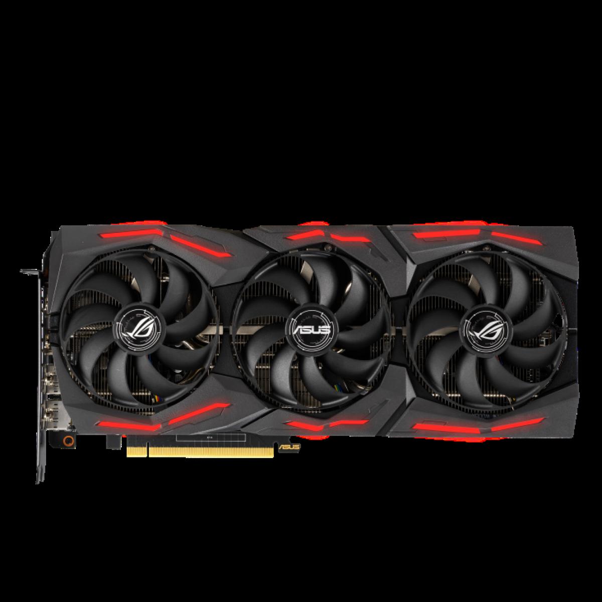 Placa de Vídeo Asus GeForce RTX 2060 Rog Strix EVO Gaming, 6GB GDDR6, 196Bit, ROG-STRIX-RTX2060-A6G-EVO-GAMING