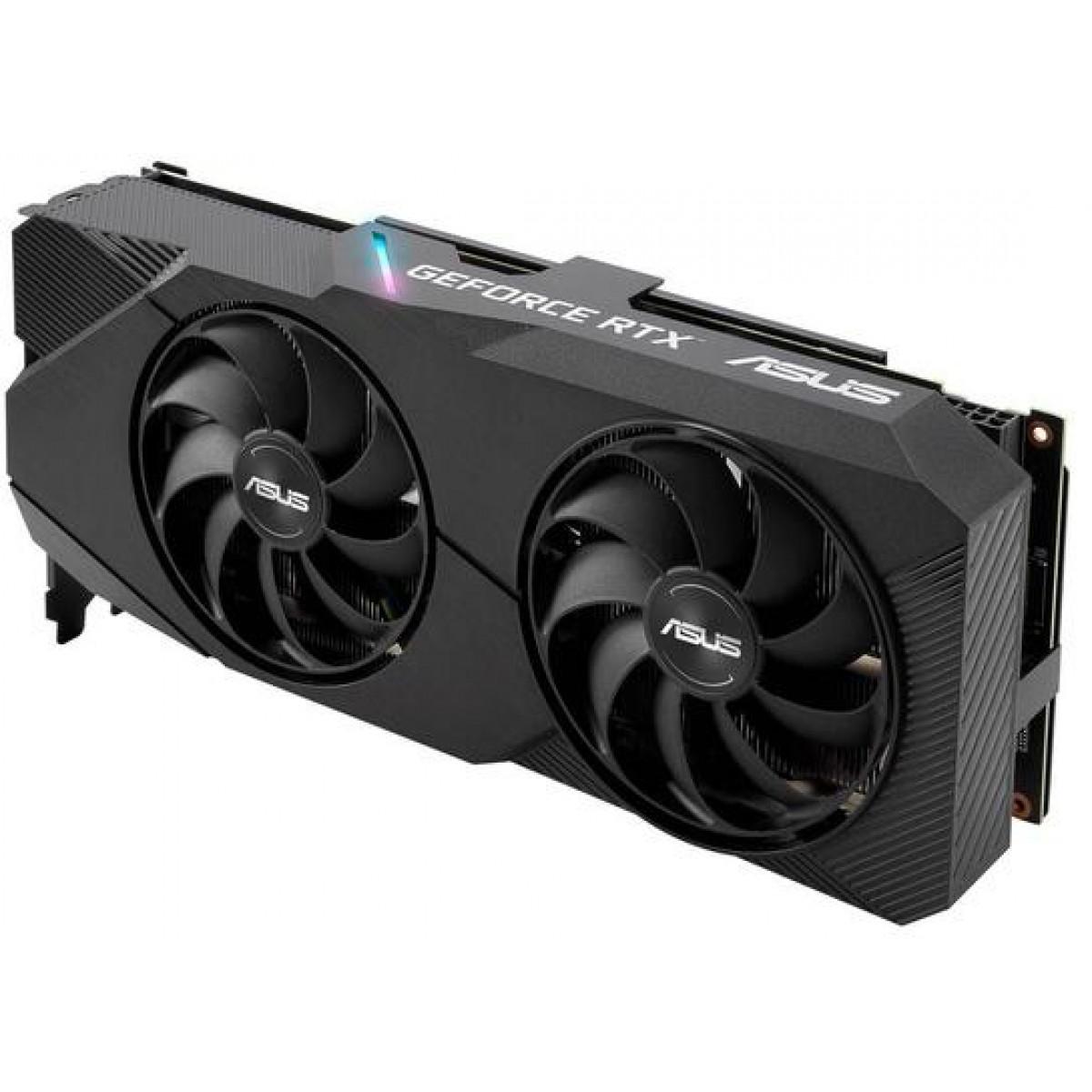 Placa de Vídeo Asus GeForce RTX 2060 Super Evo Advanced Dual, 8GB GDDR6, 256Bit, DUAL-RTX2060S-A8G-EVO