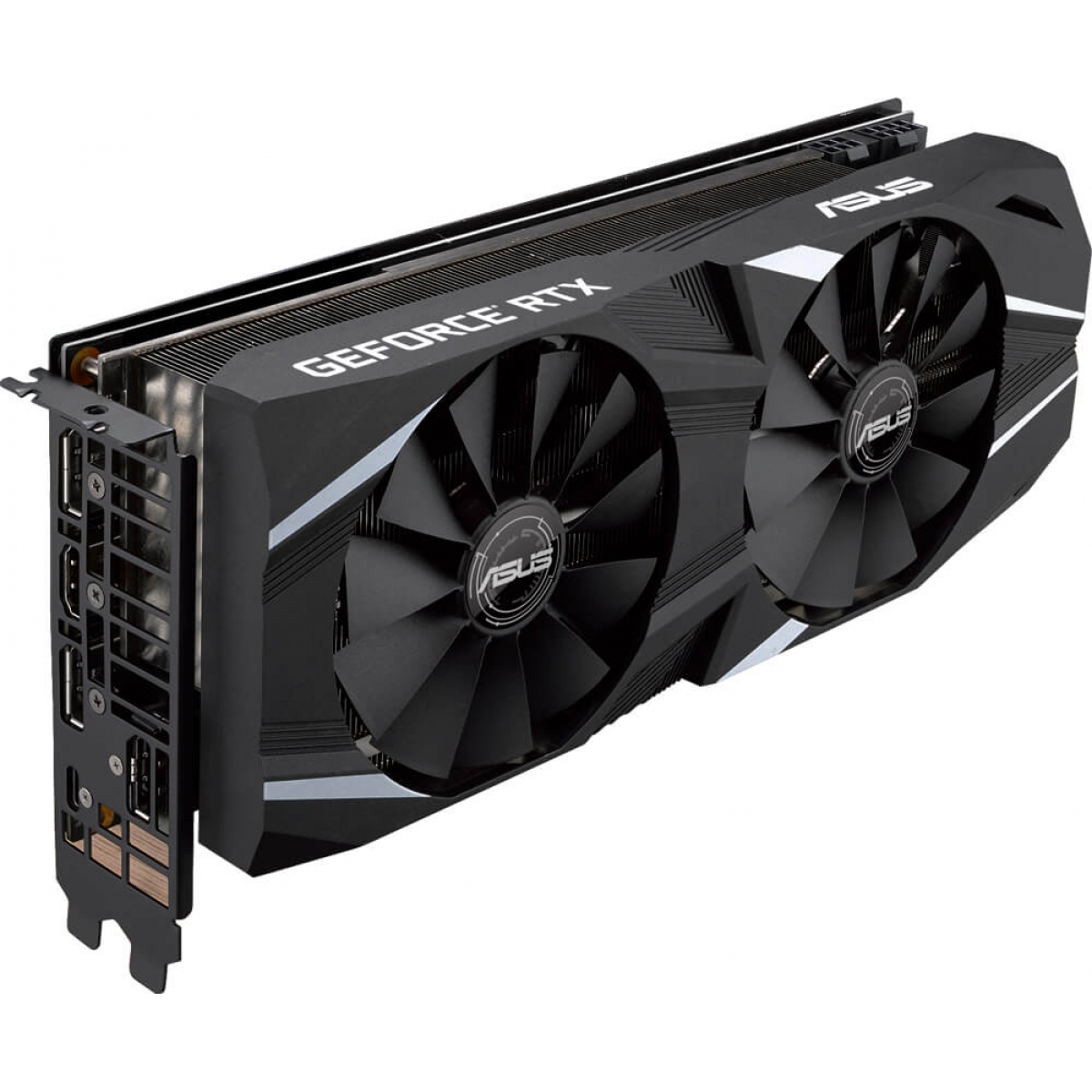 Placa de Vídeo Asus, Geforce, RTX 2070 Advanced, Dual, 8GB, GDDR6, 256Bit, DUAL-RTX2070-A8G