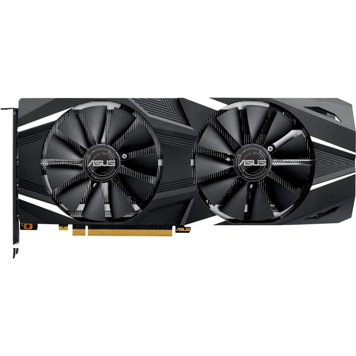 Placa de Vídeo Asus Geforce RTX 2070 DUAL OC, 8GB GDDR6, 256Bit, DUAL-RTX2070-O8G