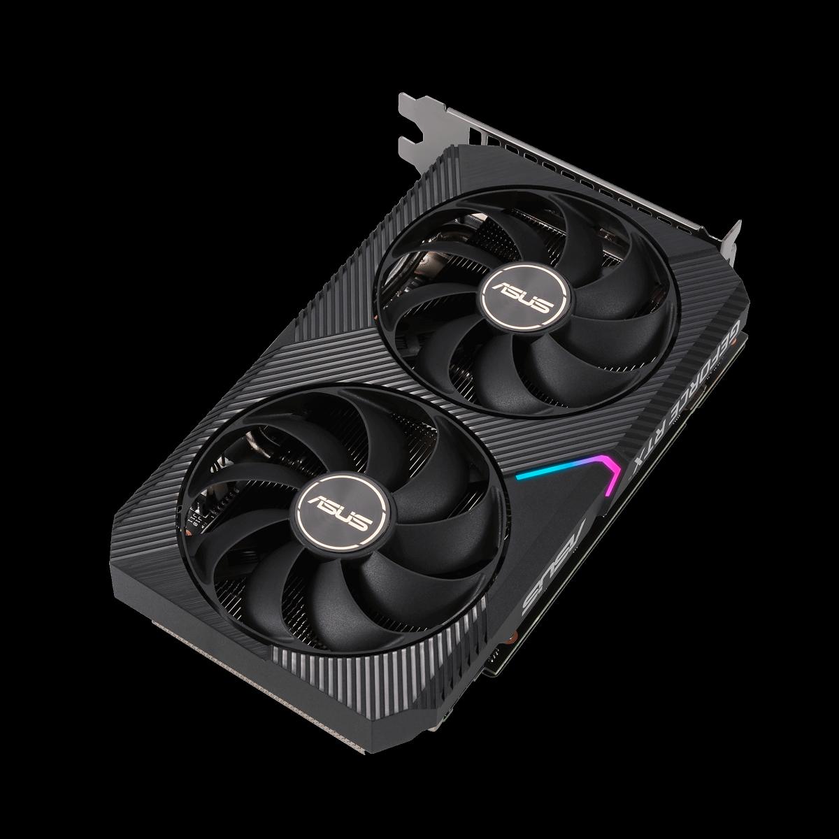 Placa de Vídeo Asus GeForce RTX 3060 OC, 12GB, GDDR6, 192bit, DUAL-RTX3060-O12G