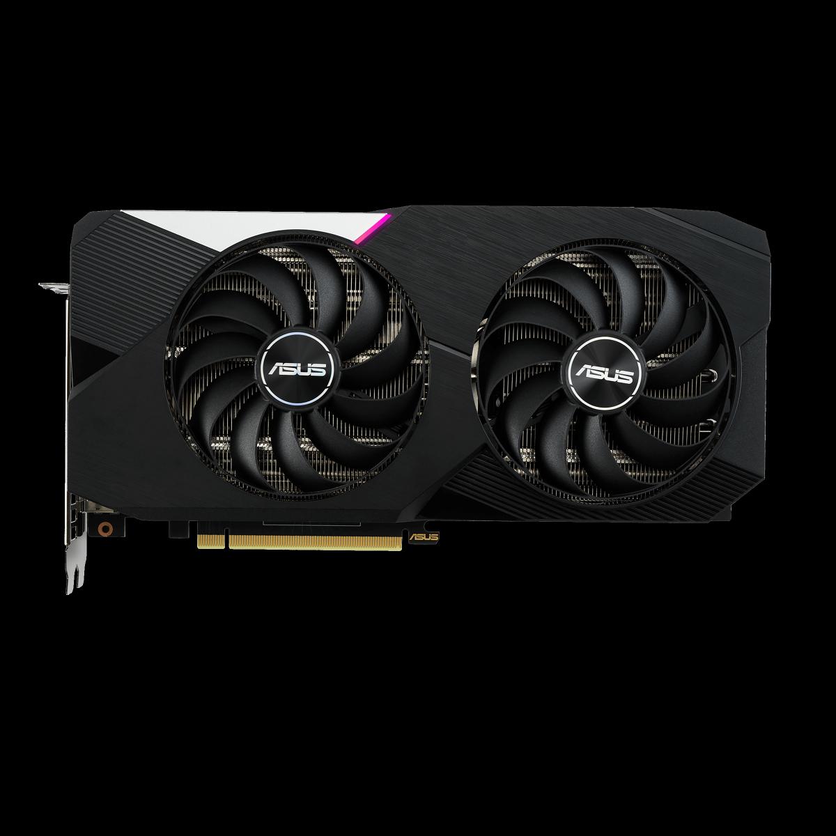 Placa de Vídeo Asus Geforce RTX 3060 Ti DUAL OC, 8GB GDDR6, 256bit, DUAL-RTX3060TI-O8G