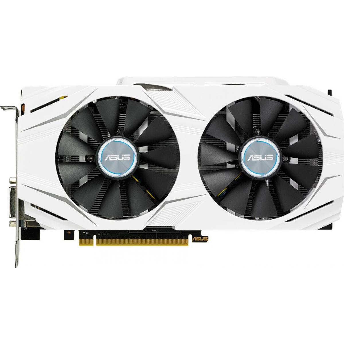 Placa de Vídeo Asus, Geforce, Gtx 1070, Dual, 8GB, DDR5, 256Bit, DUAL-GTX1070-O8G