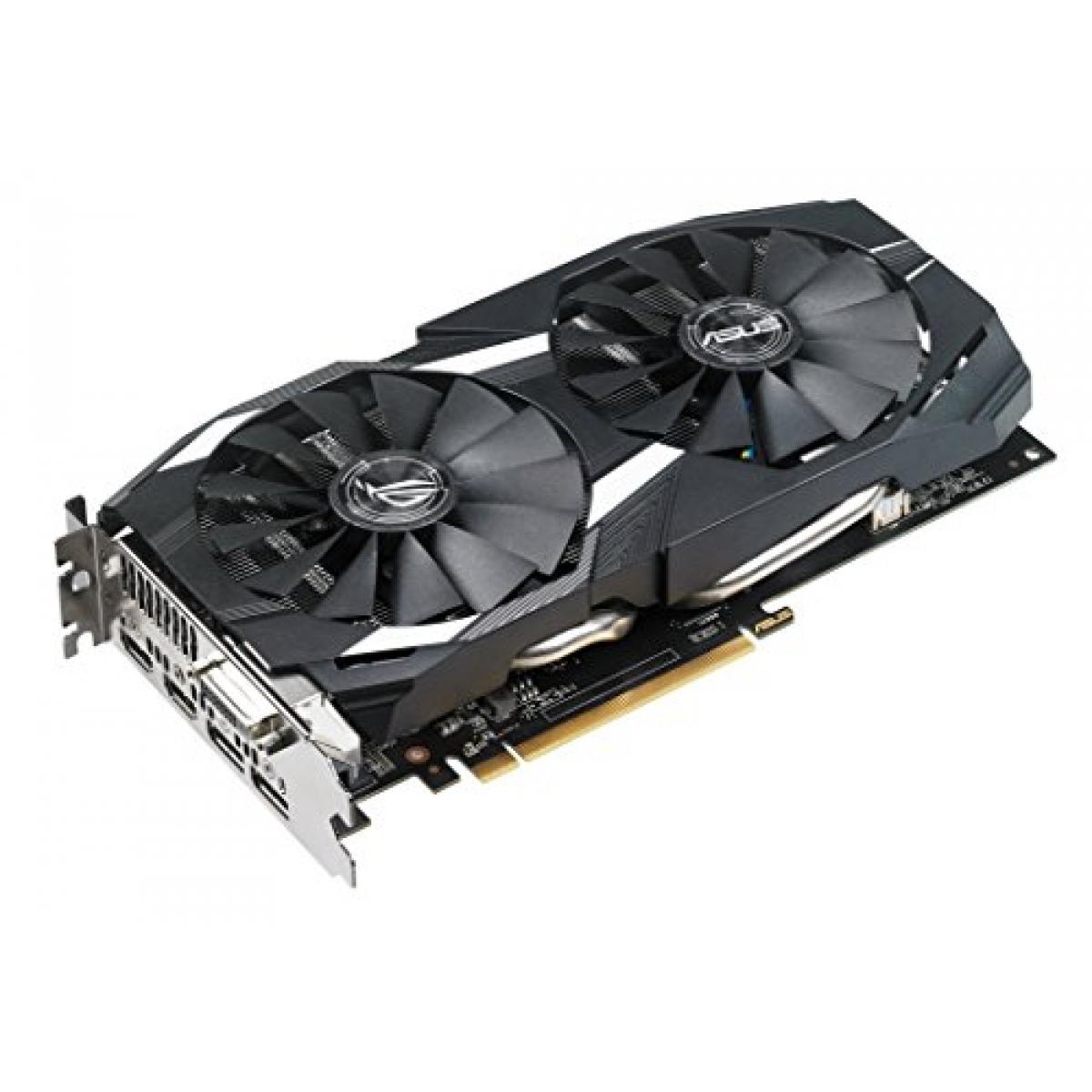 Placa de Vídeo Asus Radeon RX 580 Dual OC, 8GB GDDR5, 256Bit, DUAL-RX580-O8G