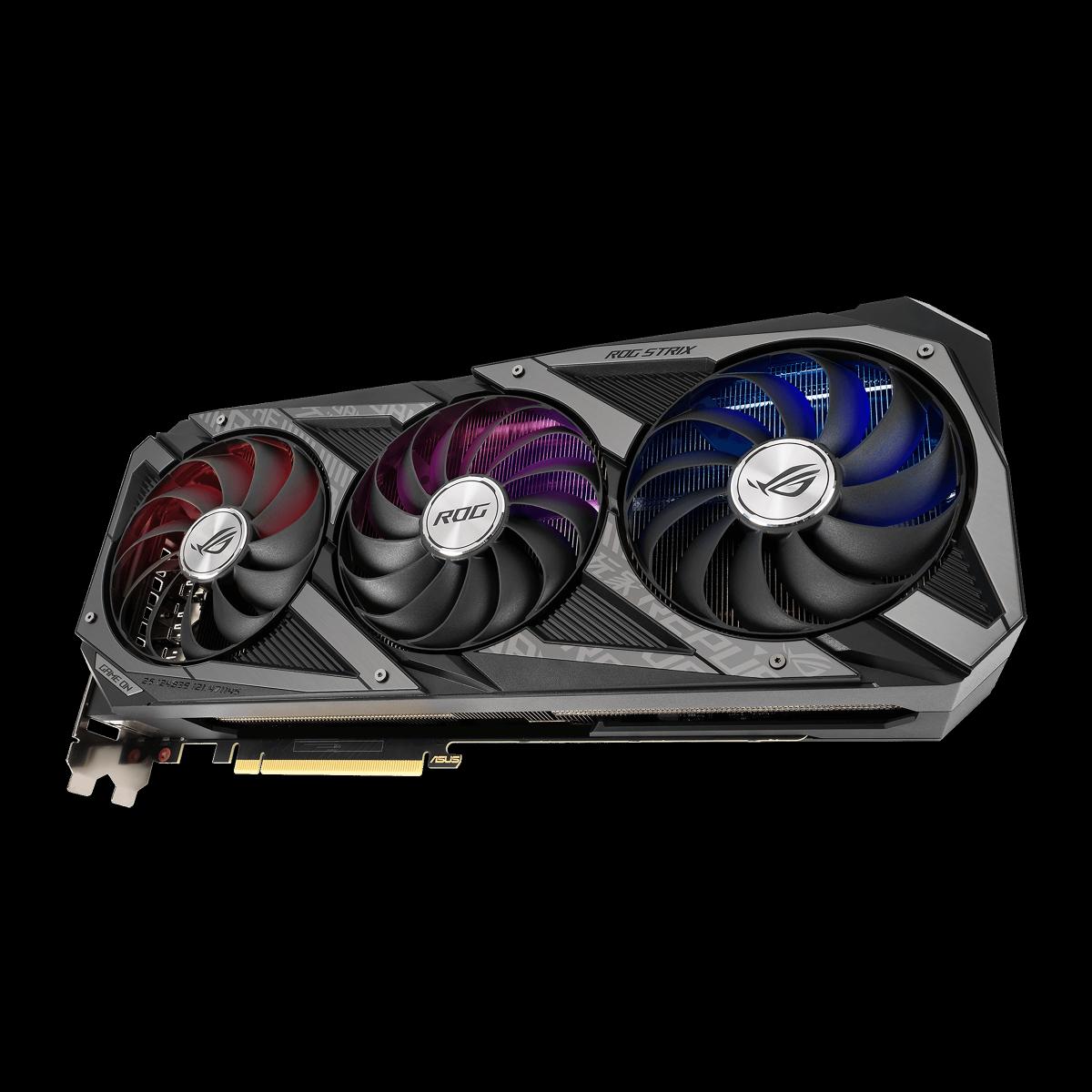 Placa de Vídeo Asus, ROG Strix, Geforce RTX 3060 Ti, 8GB, GDDR6, 256bit, ROG-STRIX-RTX3060TI-O8G-GAMING