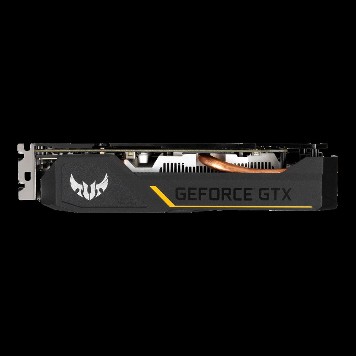 Placa de Vídeo Asus, TUF Gaming GeForce, GTX 1650 Dual, 4GB, GDDR6, 128Bit, TUF-GTX1650-4GD6-GAMING