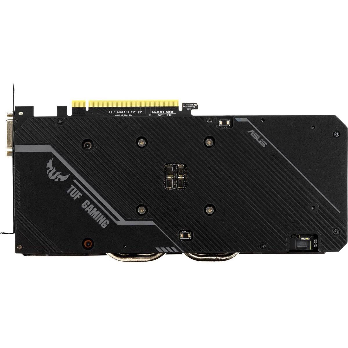 Placa de Vídeo Asus GeForce TUF3 GTX 1660 OC, 6GB GDDR5, 192Bit, TUF3-GTX1660-O6G-GAMING
