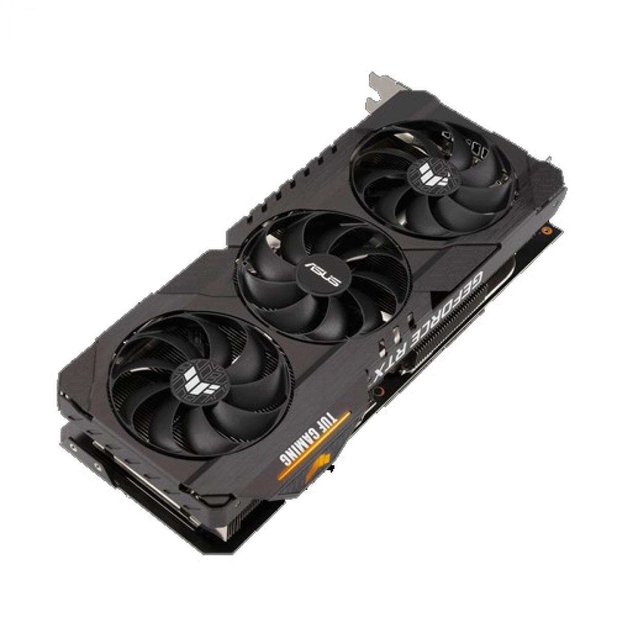 Placa de Vídeo Asus TUF Geforce, RTX 3090 OC, 24GB GDDR6X, 384bit, TUF-RTX3090-O24G-GAMING - OPEN BOX