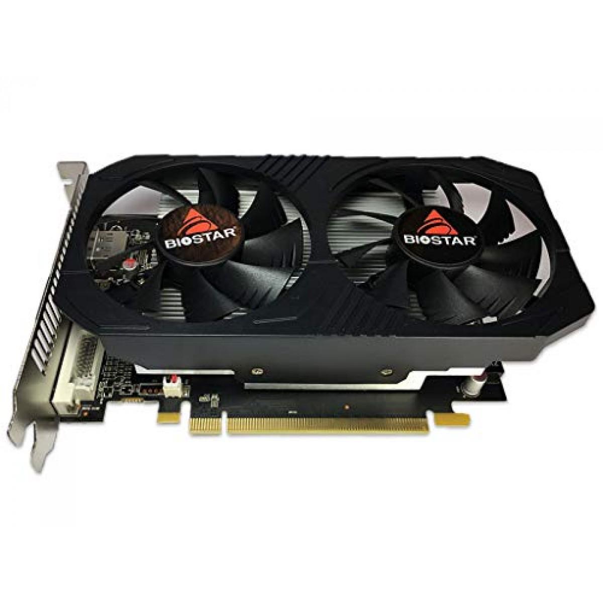 Placa de Video Biostar, Radeon RX 560 4GB, GDDR5, 128 Bit, VA5615RF41-TBVRA-BS2 - Open Box