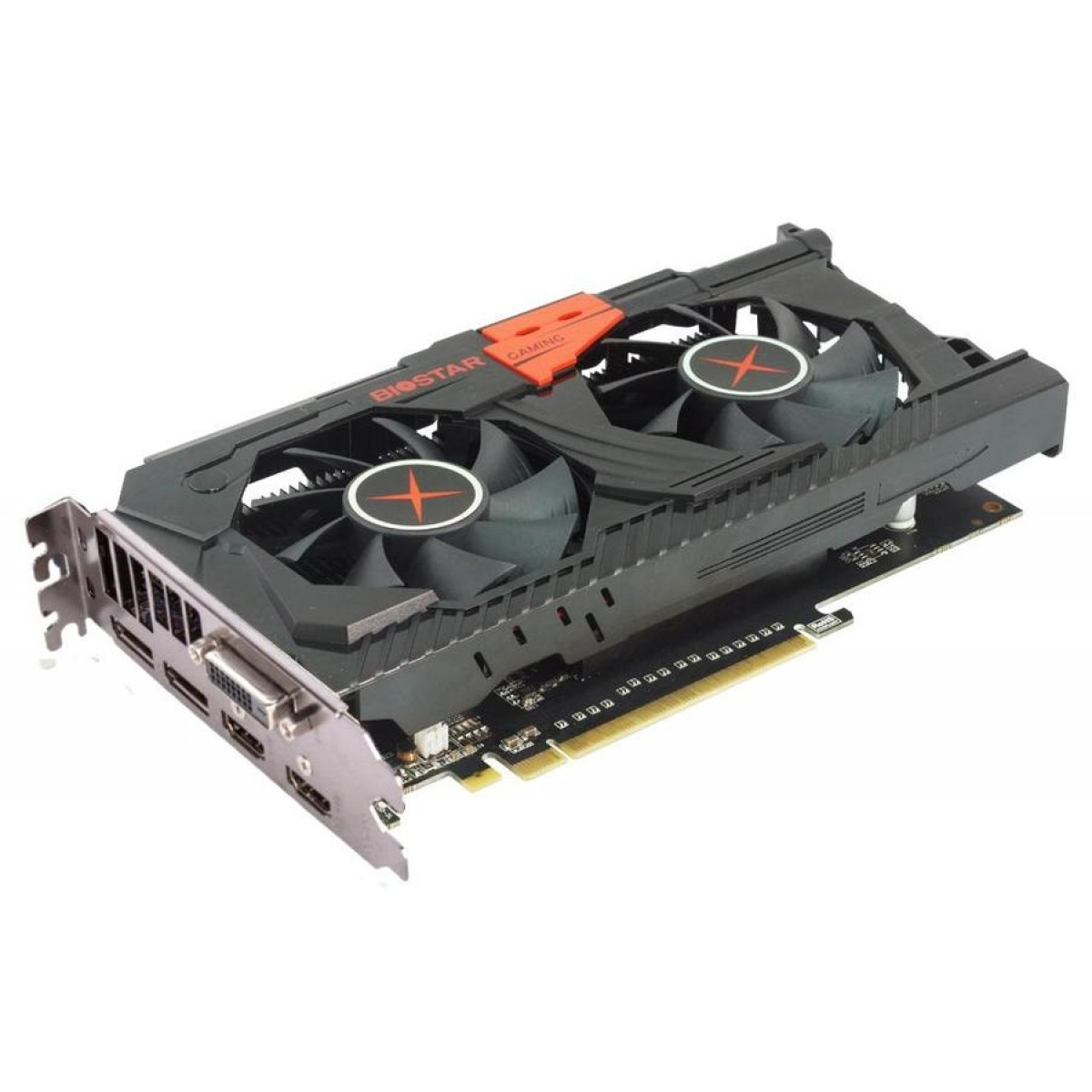 Placa de Video Biostar, Radeon, RX 570, 8GB, GDDR5, 256 Bit, VA5705RV82-TBSRH-BS2