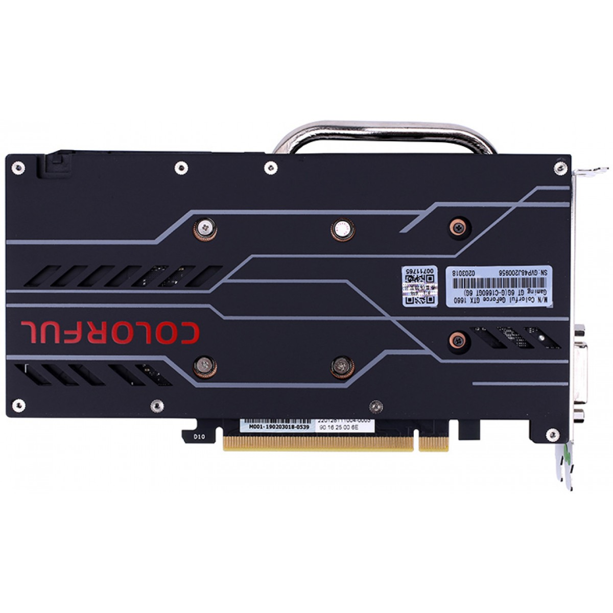 Placa de Vídeo Colorful GeForce GTX 1660 6G Dual, 6GB GDDR5, 192Bit