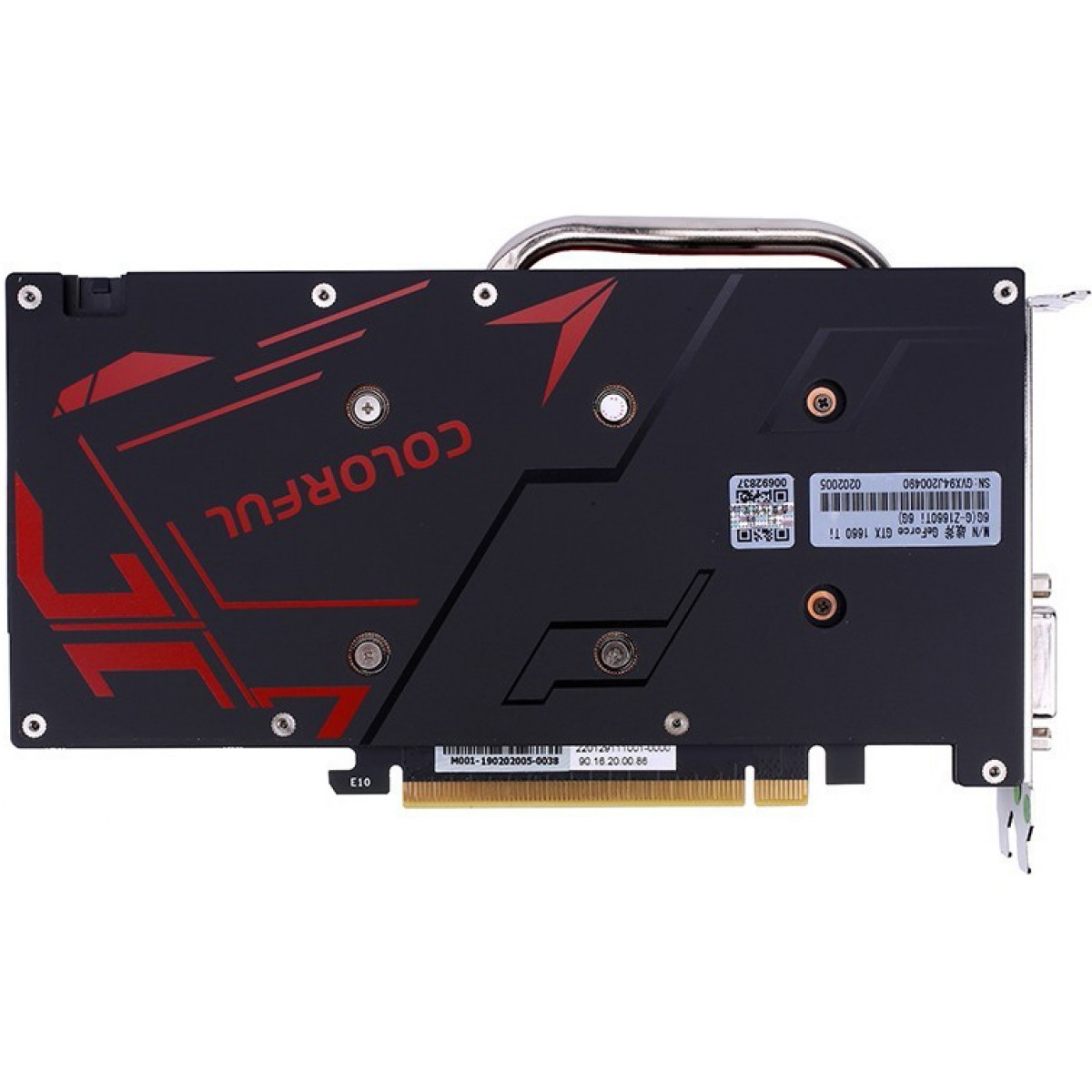 Placa de Vídeo Colorful, GeForce, GTX 1660 NB Dual, 6GB GDDR5, 192Bit, GTX 1660 NB 6G-V