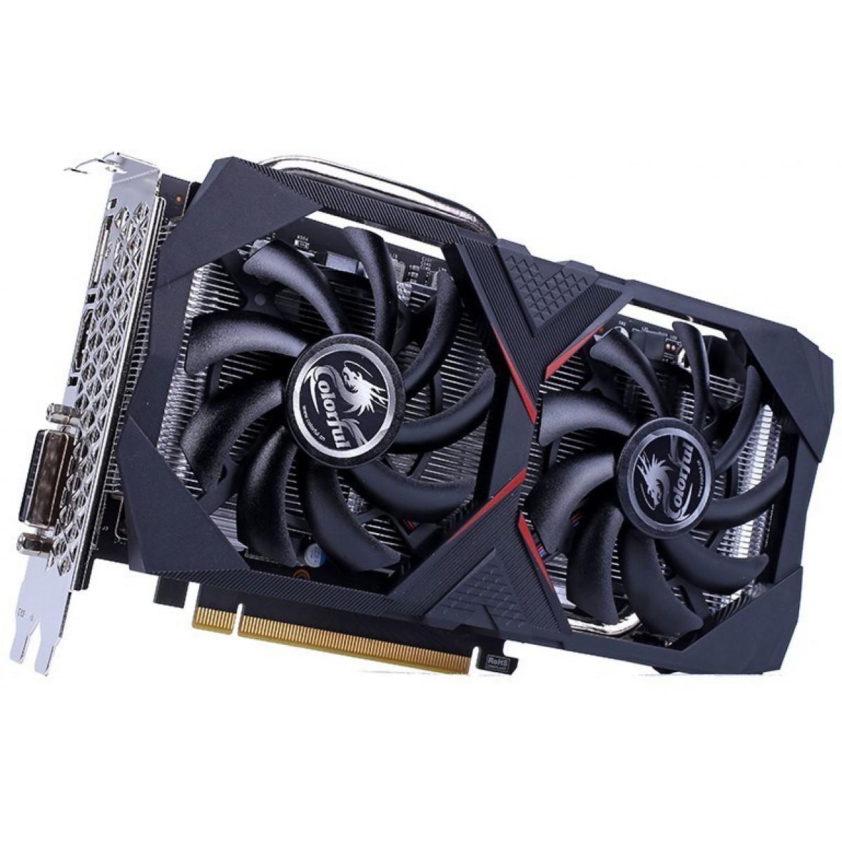 Placa de Vídeo Colorful GeForce GTX 1660 Super 6G-V, 6GB GDDR6, 192Bit