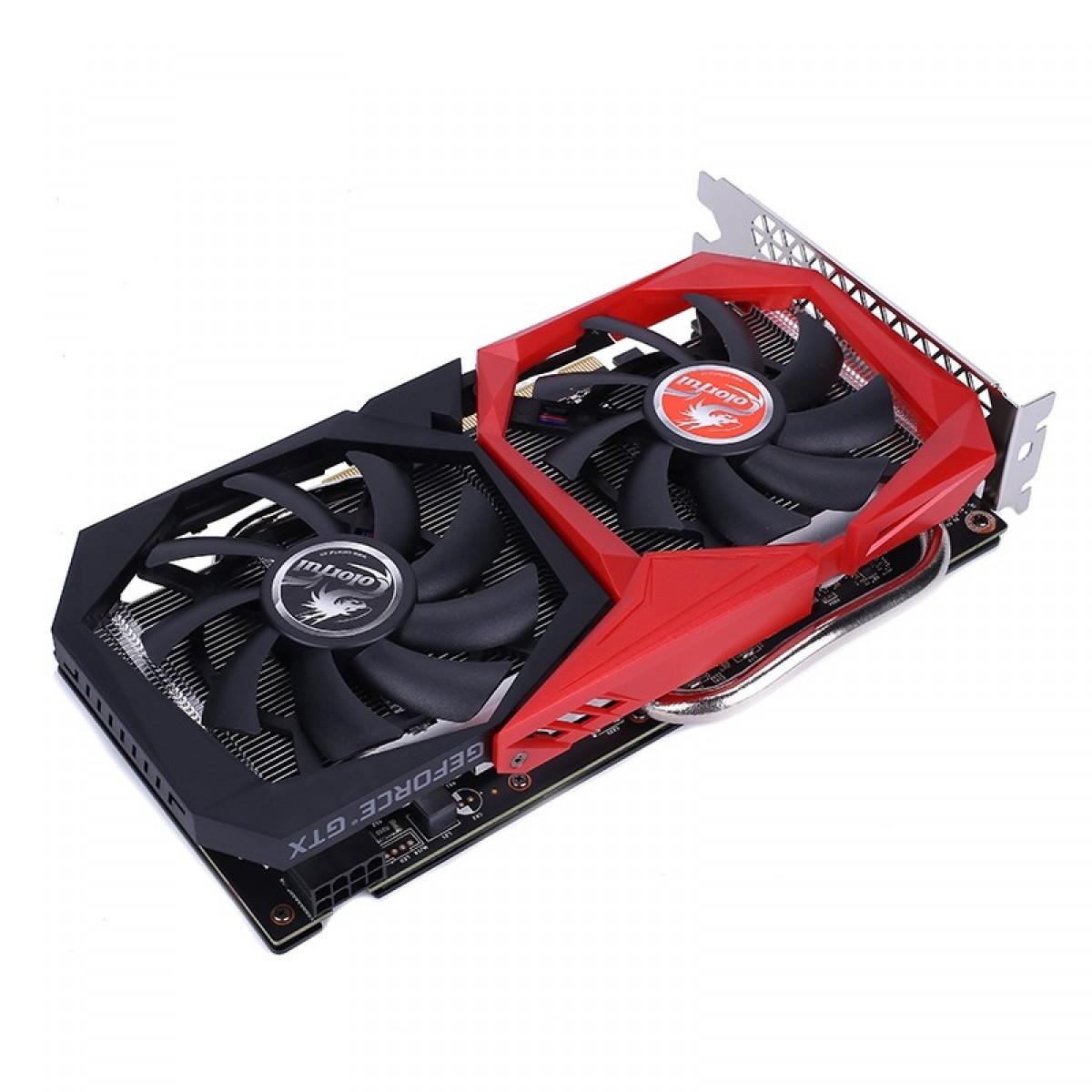 Placa de Vídeo Colorful GeForce GTX 1660 Super NB 6G-V, 6GB GDDR6, 192Bit