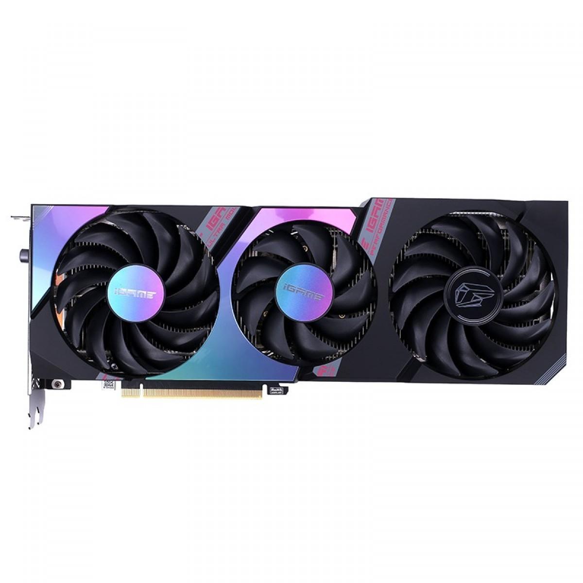 Placa de Vídeo Colorful, GeForce, iGame RTX 3070 Ultra OC-V, 8GB, GDDR6, 256Bit