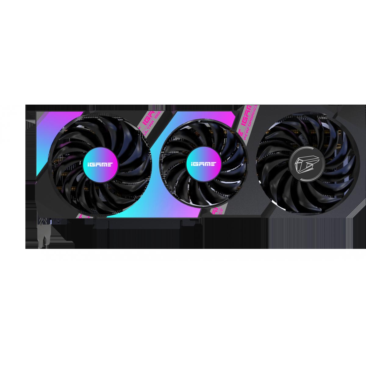 Placa de Vídeo Colorful, GeForce, iGame RTX 3080 Ultra 10G-V, 10GB, GDDR6X, 320Bit