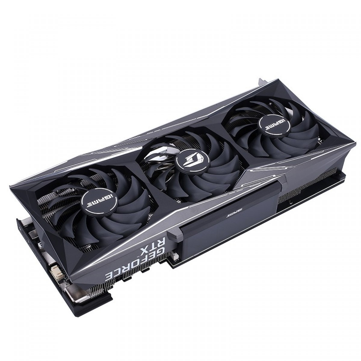 Placa de Vídeo Colorful, GeForce, iGame RTX 3080 Vulcan 10G-V, Com Tela LCD, 10GB, GDDR6X, 320Bit,