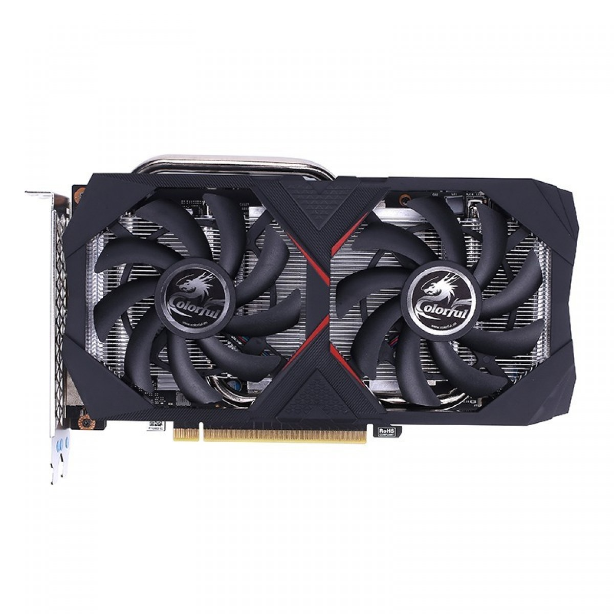 Placa de Vídeo Colorful GeForce RTX 2060 SUPER 8G-V, Dual, 8GB GDDR6, 256Bit
