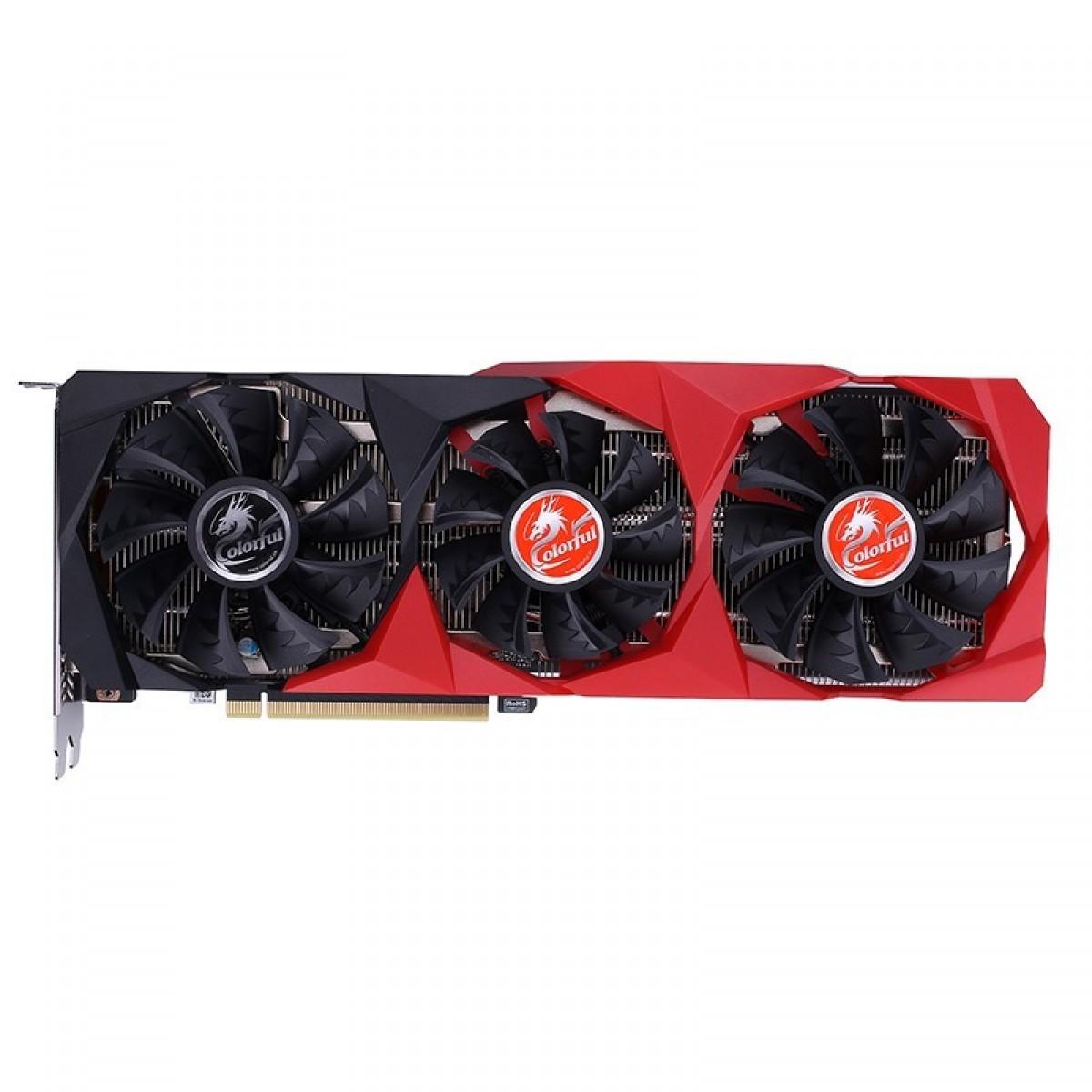 Placa de Vídeo Colorful, GeForce RTX 3060 NB-V, 12GB, GDDR6, 192Bit, 212327117806 - Open Box