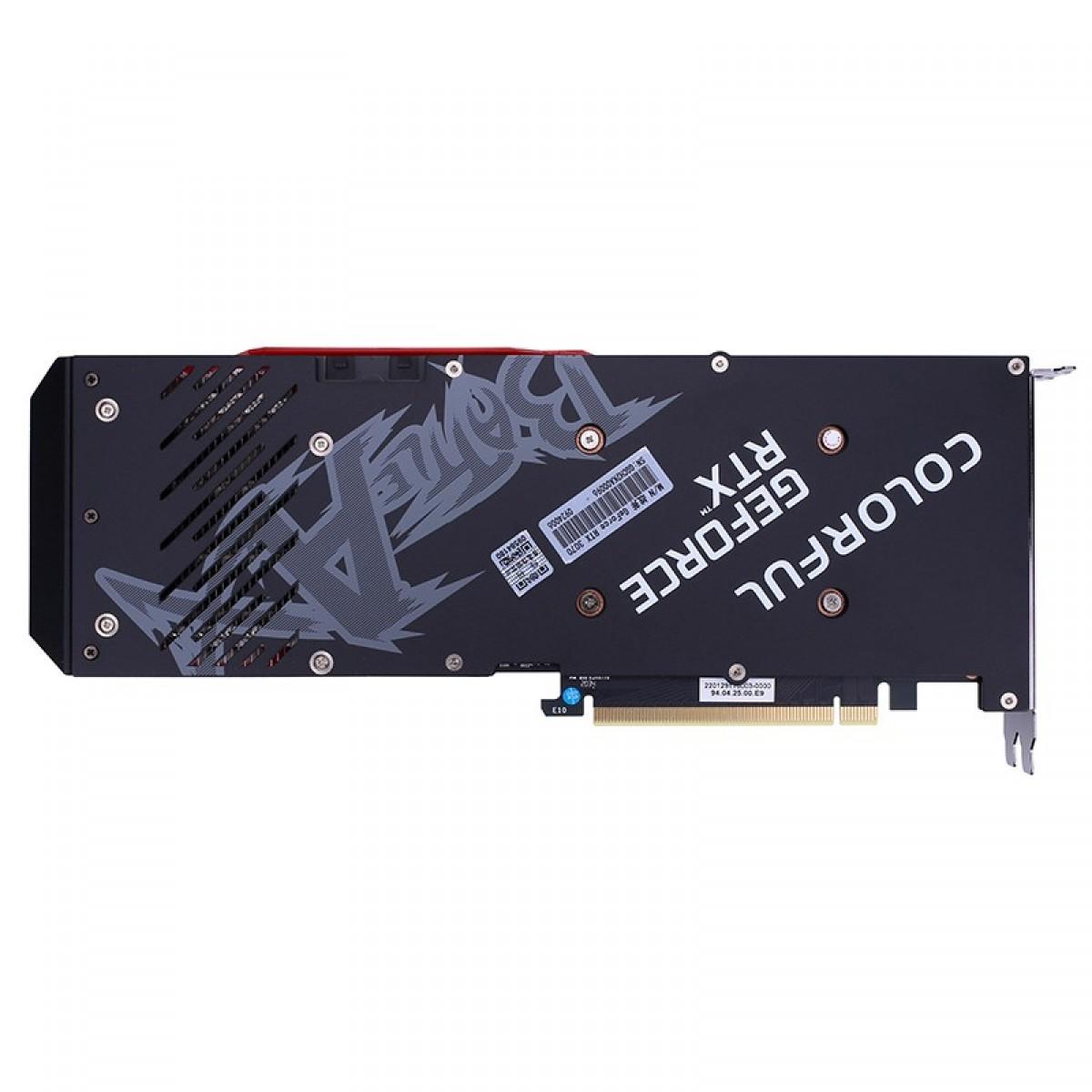 Placa de Vídeo Colorful, GeForce, RTX 3070 NB-V, 8GB, GDDR6, 256Bit, 212327116802