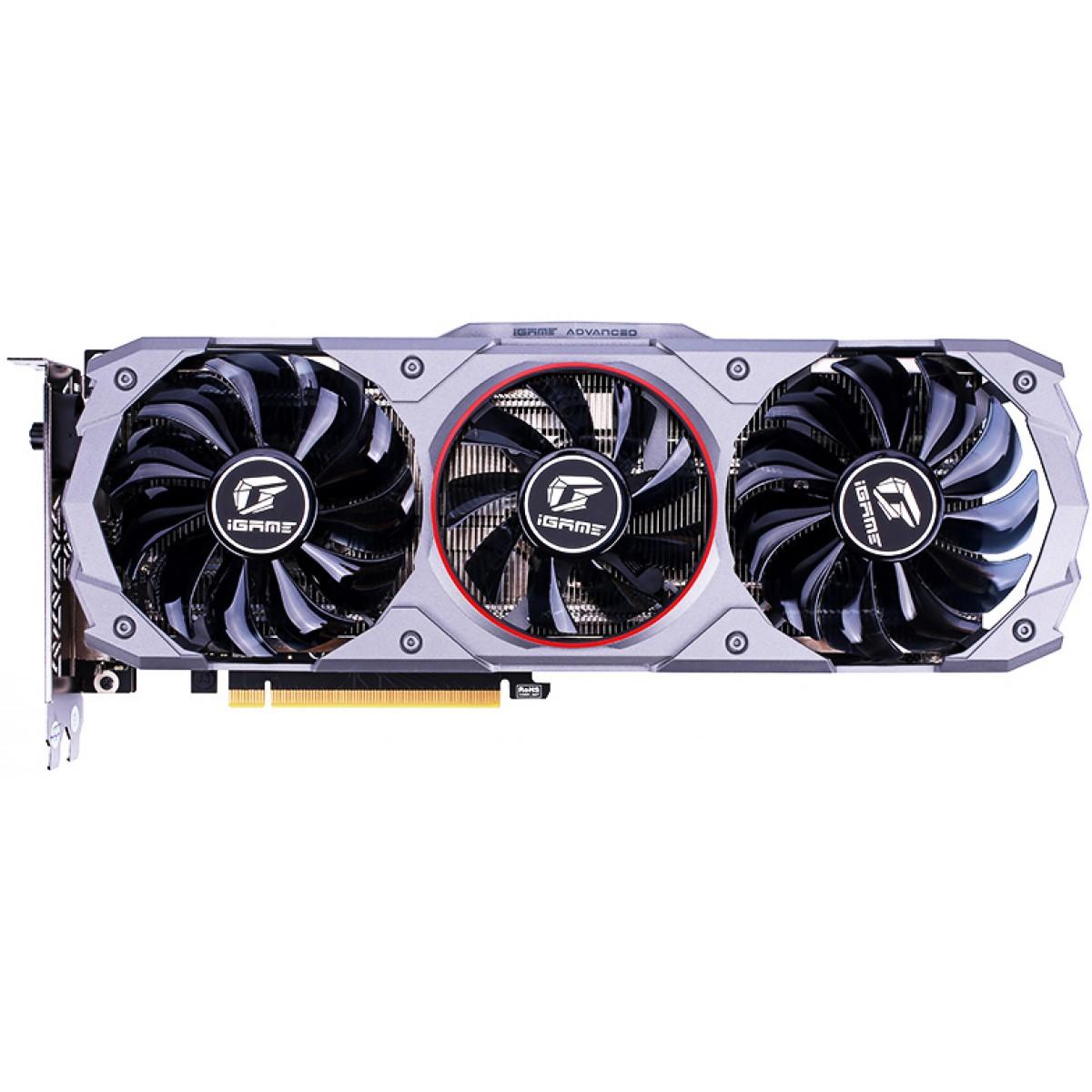 Placa de Vídeo Colorful iGame GeForce GTX 1660 Advanced OC 6G, 6GB GDDR5, 192Bit