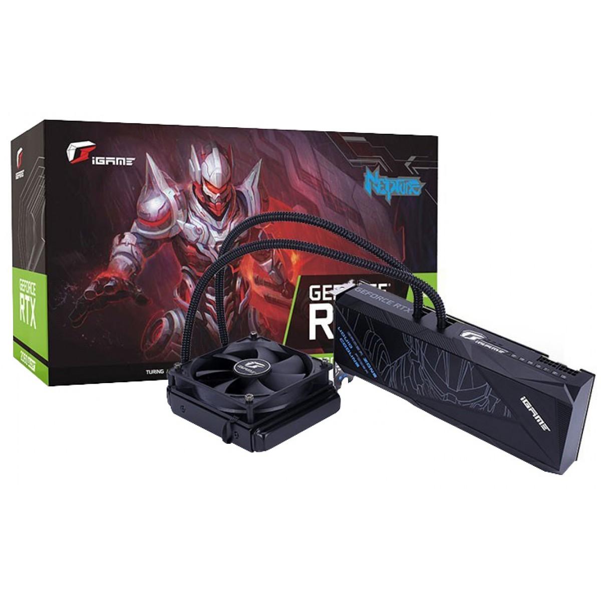 Placa de Vídeo Colorful iGame GeForce RTX 2060 Super Neptune Lite OC-V, 8GB GDDR6, 256Bit