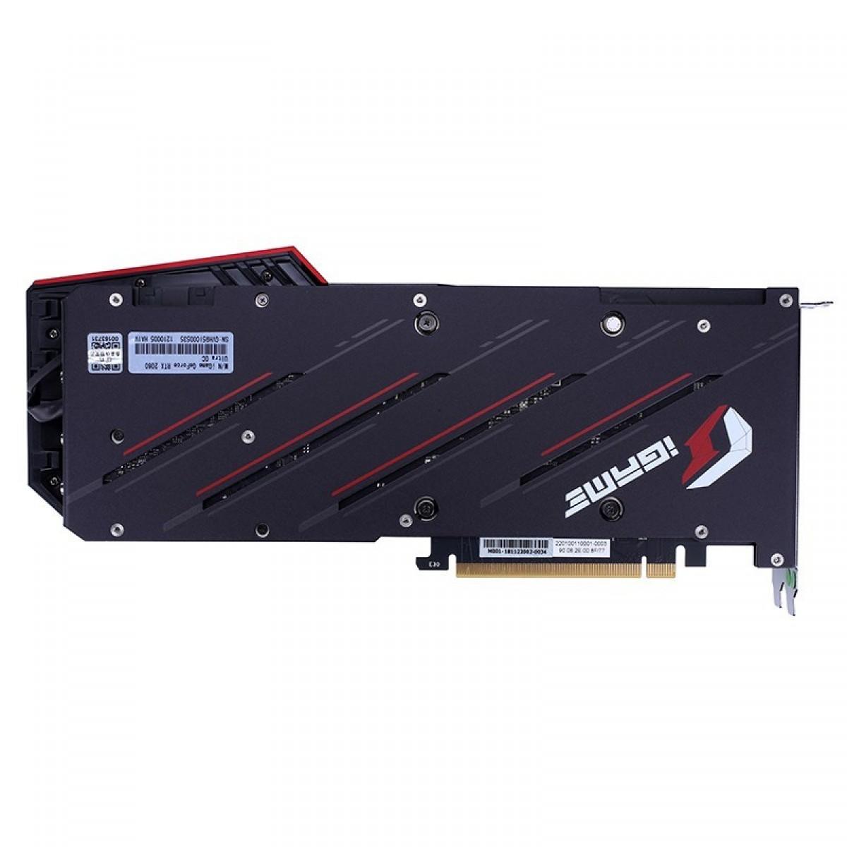 Placa de Vídeo Colorful iGame Geforce RTX 2060 Ultra OC-V, 6GB GDDR6, 192Bit