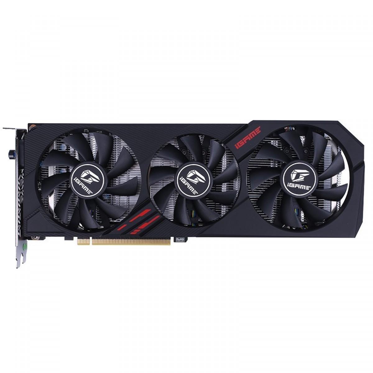 Placa de Vídeo Colorful iGame, Geforce, RTX 2060, 6GB GDDR6, 192Bit, RTX 2060 Ultra-V Triple