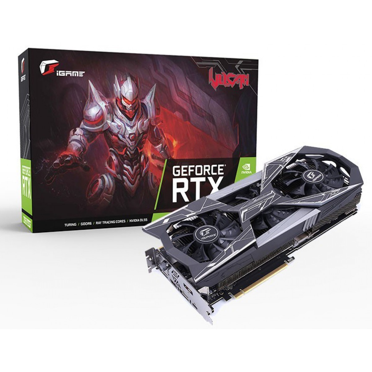 Placa de Vídeo Colorful iGame GeForce RTX 2070 Super Vulcan X OC-V, 8GB GDDR6, 256Bit