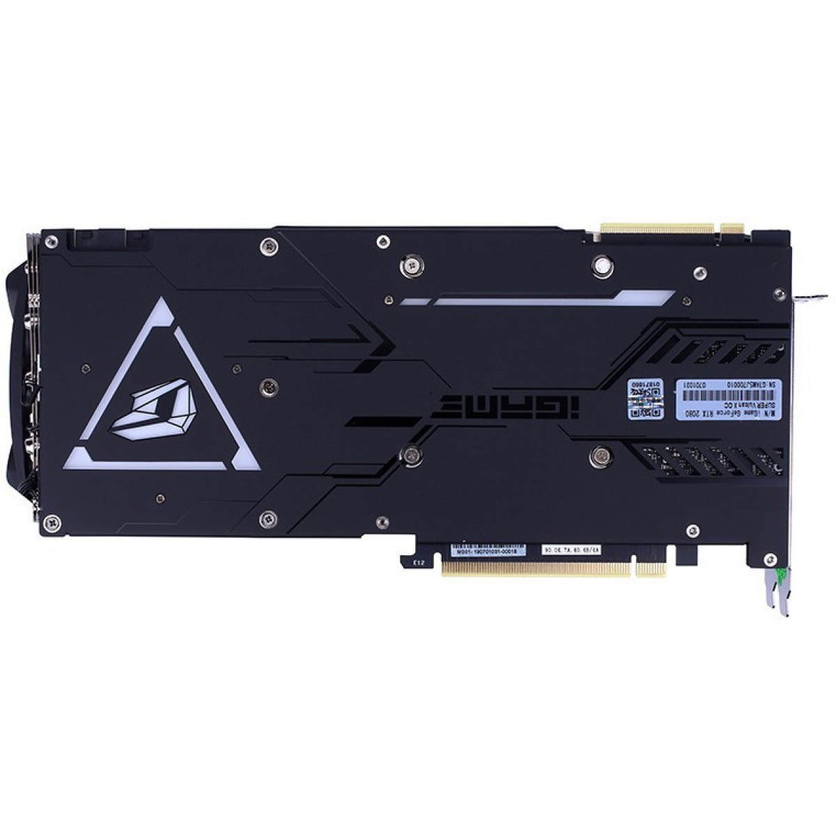Placa de Vídeo Colorful iGame GeForce RTX 2080 Super Vulcan X OC-V, 8GB GDDR6, 256Bit
