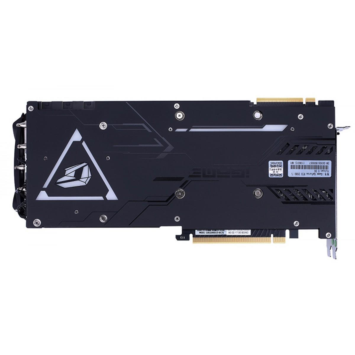 Placa de Vídeo Colorful iGame Geforce RTX 2080 Ti Vulcan X OC, 11GB GDDR6, 352Bit