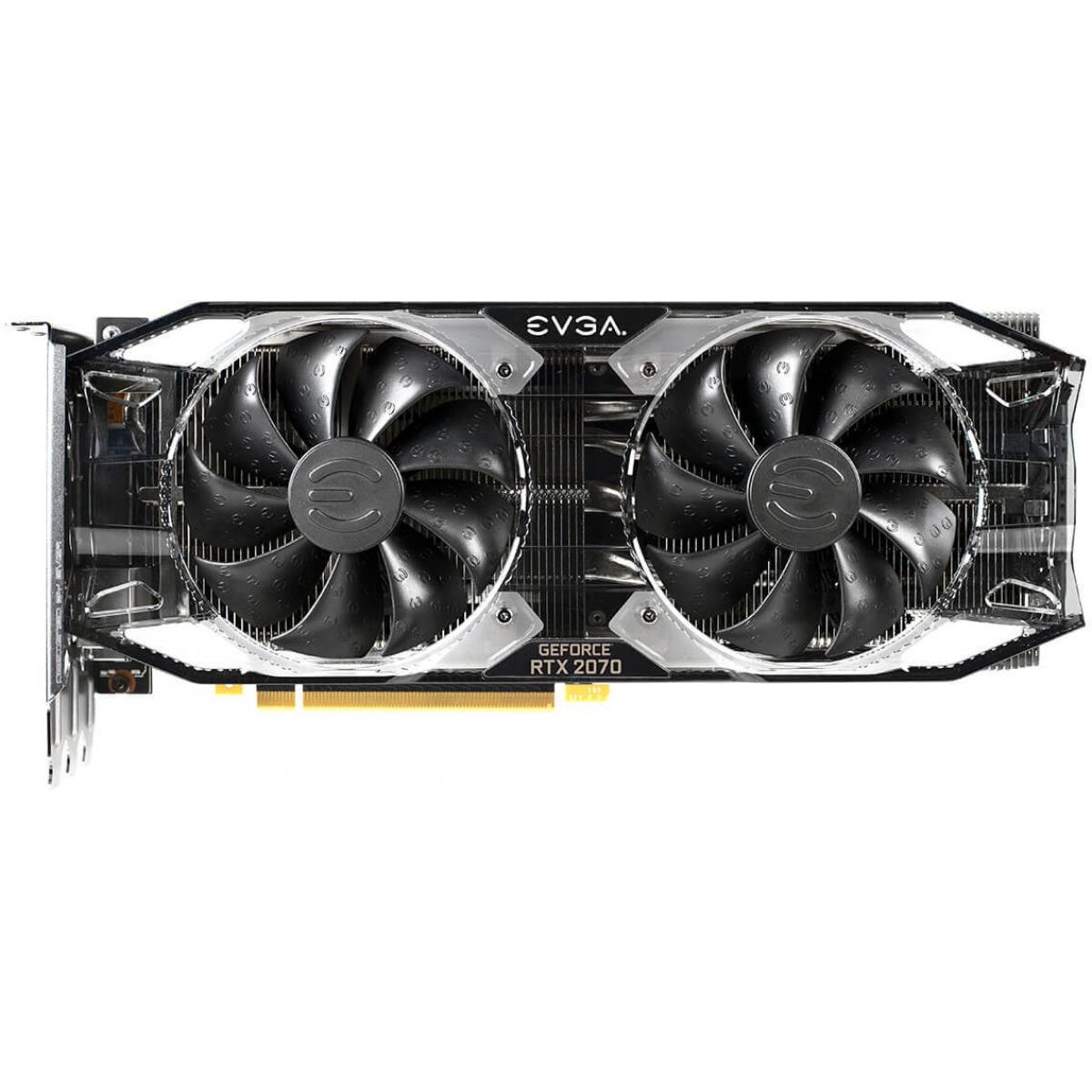 Placa de Vídeo EVGA Geforce RTX 2070 XC Ultra Gaming Dual, 8GB GDDR6, 256Bit