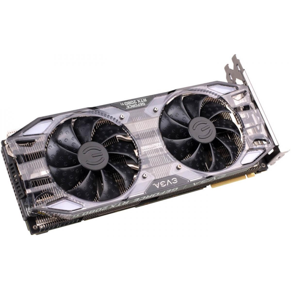 Placa de Vídeo EVGA Geforce RTX 2080 Ti XC Gaming Dual, 11GB GDDR6, 352Bit