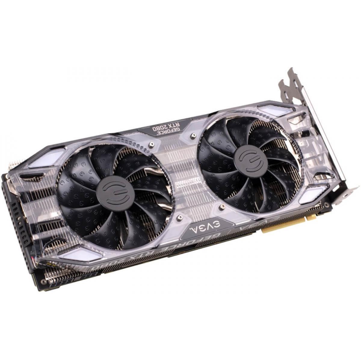 Placa de Vídeo EVGA Geforce RTX 2080 XC Gaming Dual, 8GB GDDR6, 256Bit