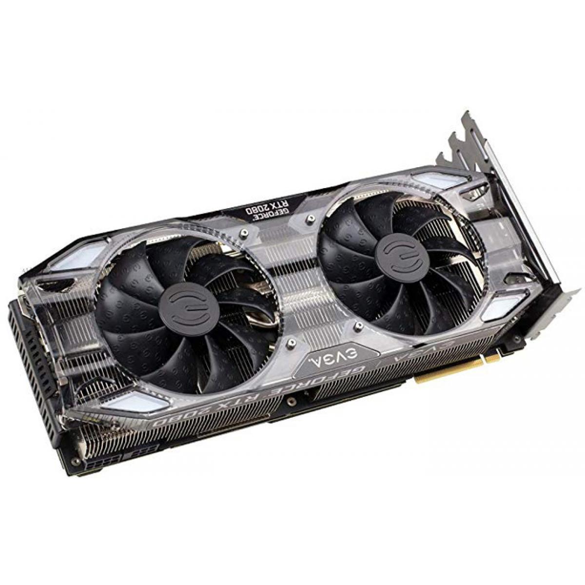 Placa de Vídeo EVGA Geforce RTX 2080 XC Ultra Gaming Dual, 8GB GDDR6, 256Bit, 08G-P4-2183-KR