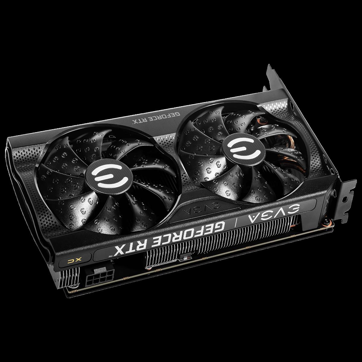 Placa de Vídeo EVGA GeForce RTX 3060 XC Gaming Dual Fan, 12GB, GDDR6, 192bit, LHR, 12G-P5-3657-KR