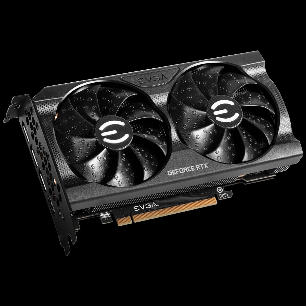 Placa de Vídeo EVGA GeForce RTX 3060 XC Gaming, 12GB, GDDR6, 192bit, 12G-P5-3657-KR