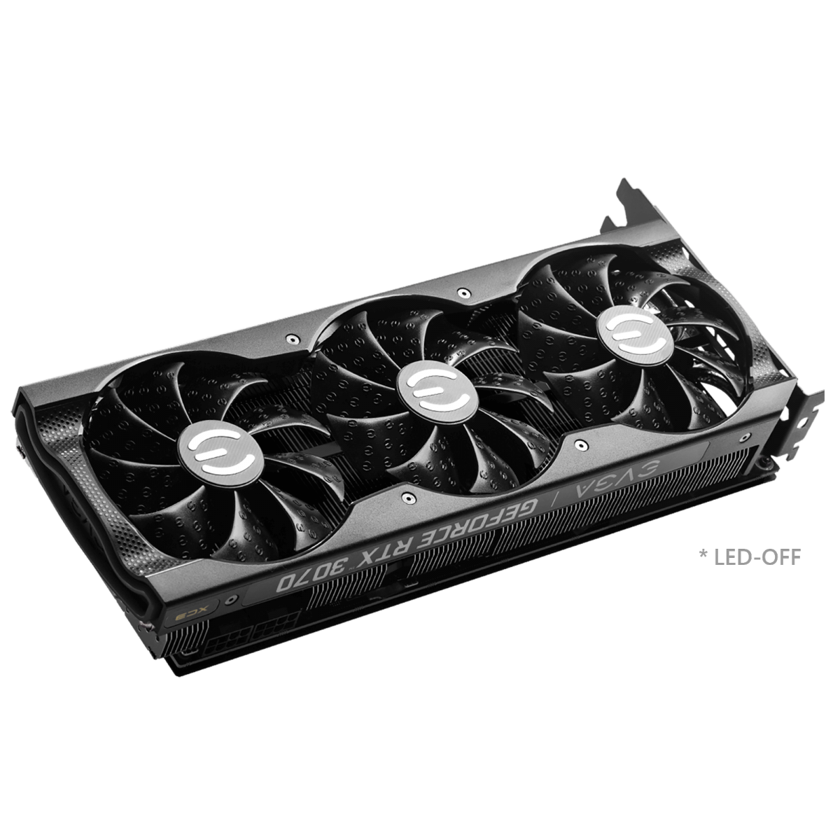 Placa de Vídeo EVGA GeForce RTX 3070 XC3 ULTRA GAMING, 8GB, GDDR6, 256bit, 08G-P5-3755-KR