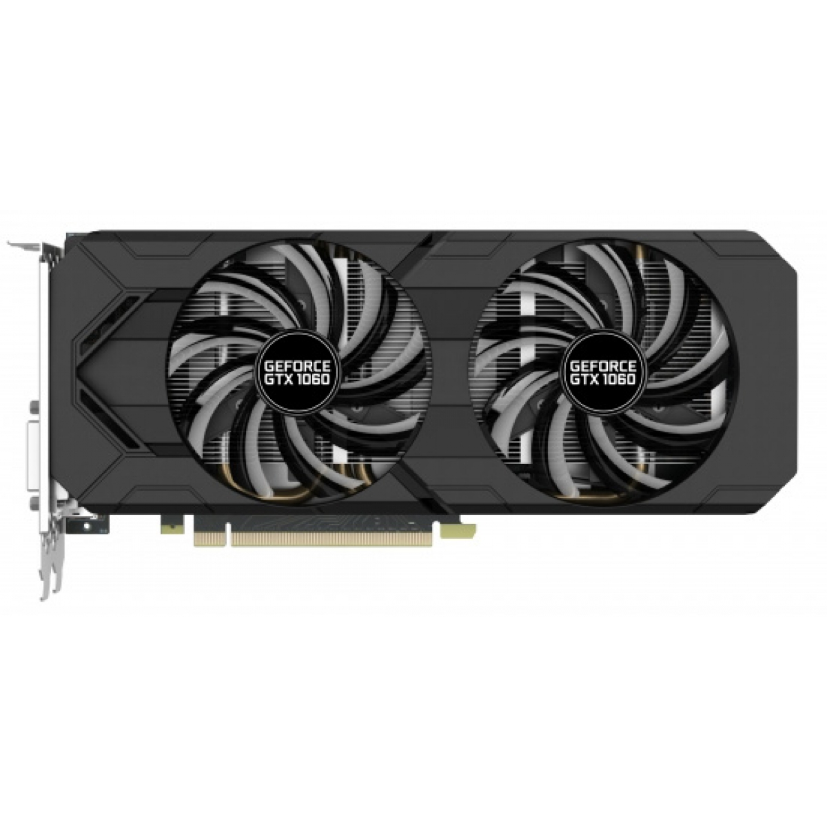 Placa De Vídeo Gainward Geforce GTX 1060 Dual, 6GB GDDR5, 192Bit