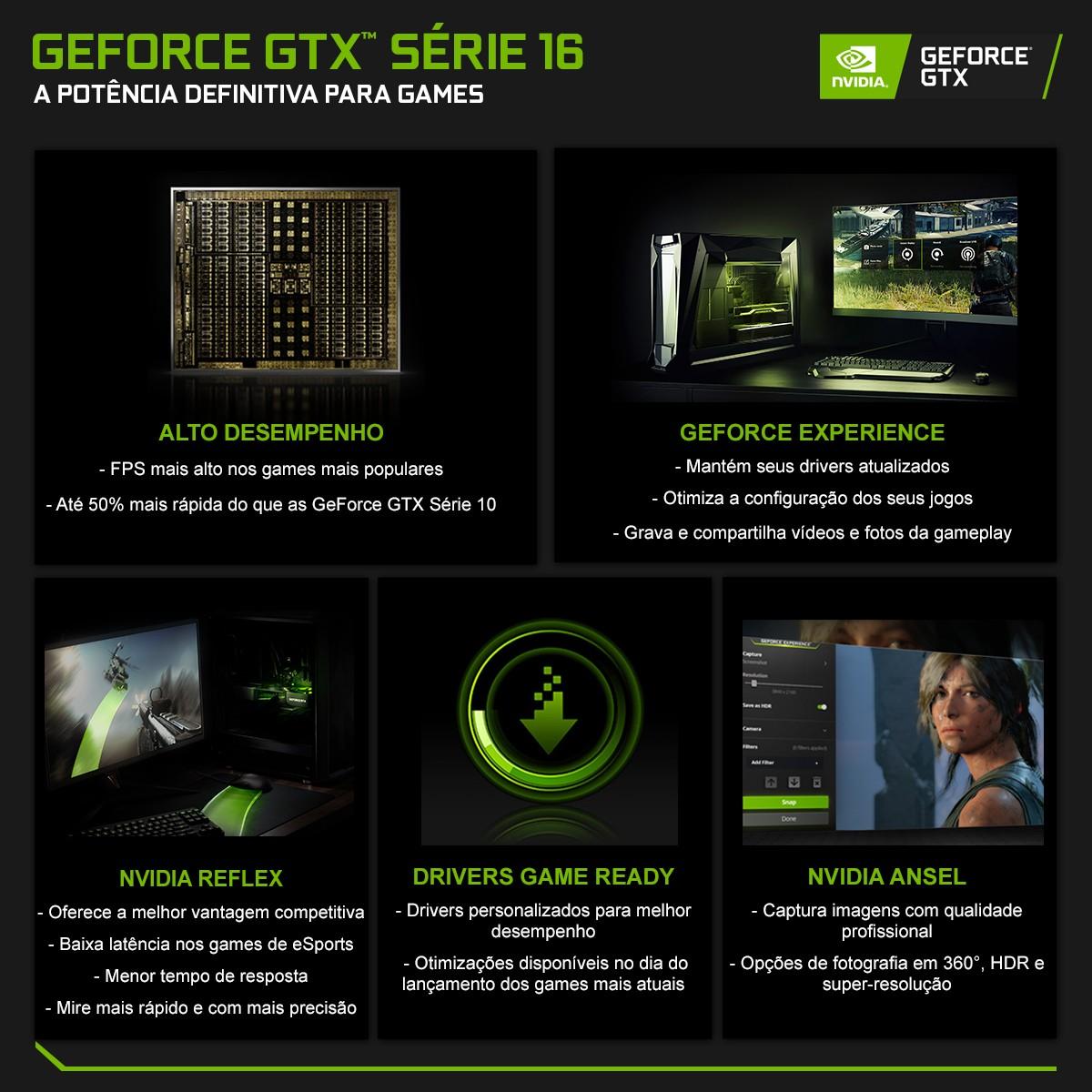 Placa de Vídeo Gainward GeForce GTX 1660 Super Ghost Dual, 6GB GDDR6, 192Bit, NE6166S018J9-1160X-1
