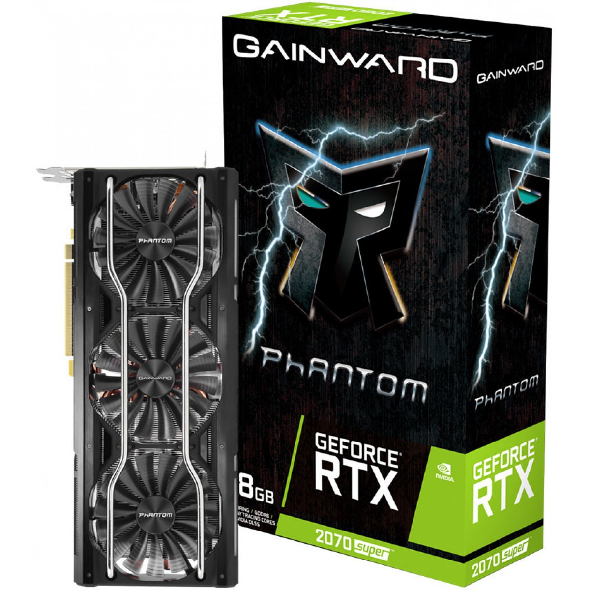 Placa de Vídeo Gainward GeForce RTX 2070 Super Phanton, 8GB GDDR6, 256Bit, NE6207S019P2-1040P